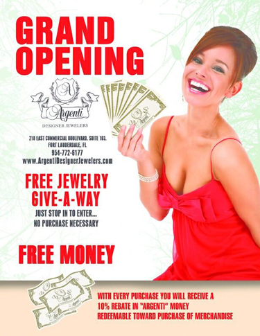 Argenti Jewelers Grand Opening in Lauderdale by the Sea, FL