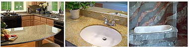 Crystalline calcium carbonate is great for sinks and bathtubs!
